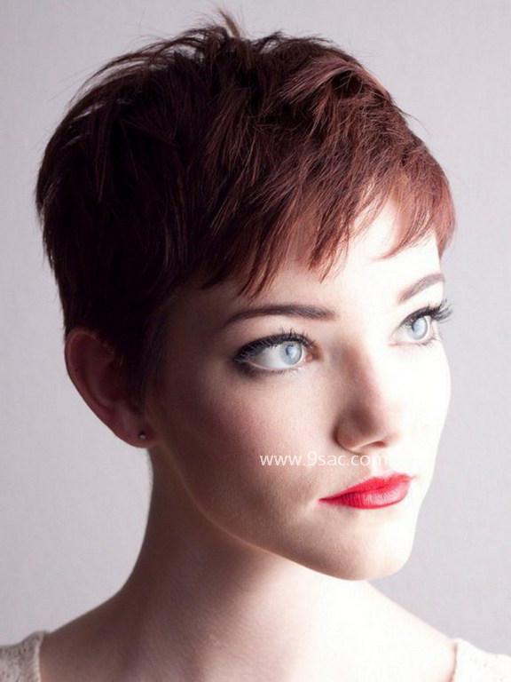 Pürüzsüz Pixie Kızıl Tonlu Saç Renkleri için
