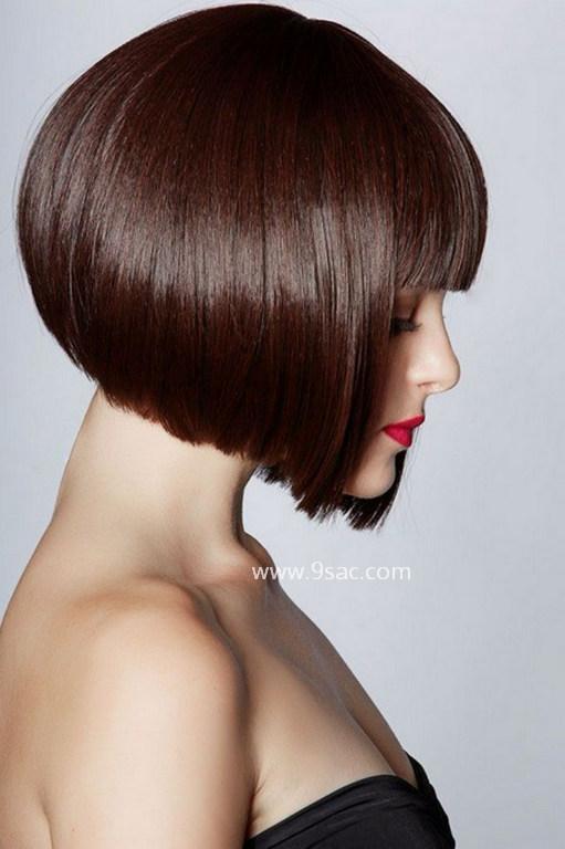 Kalın Saç için Bob Saç Modeli Ağır Kahküller