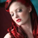 moda pinup saç modeli ve renkleri