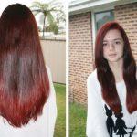 Kızıl kahverengi mane saç renkleri 2018