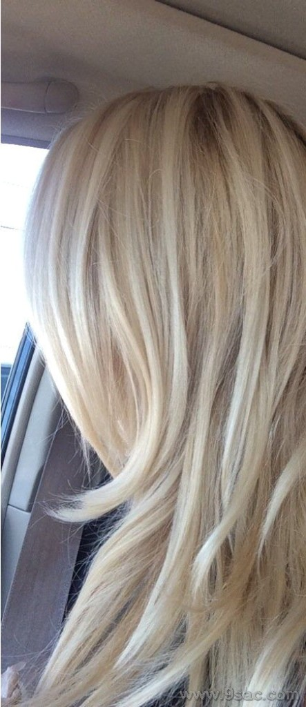 Küllü Platin Sari Saç Renkleri Saç