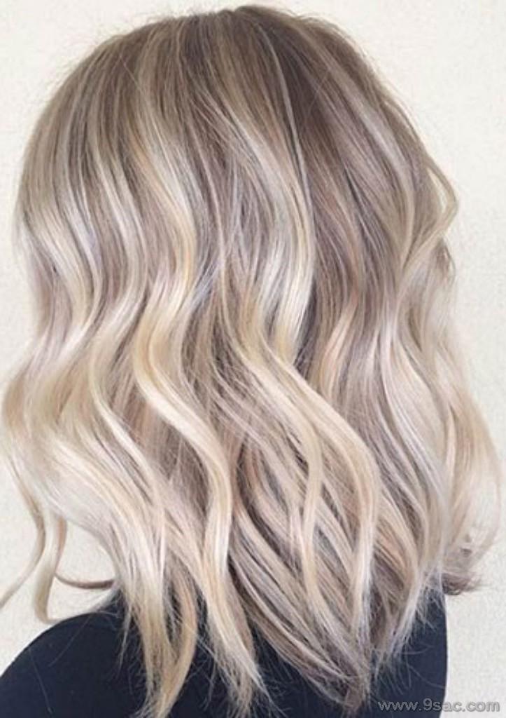 Platin Sari Saç Renkleri Ve Modelleri Saç