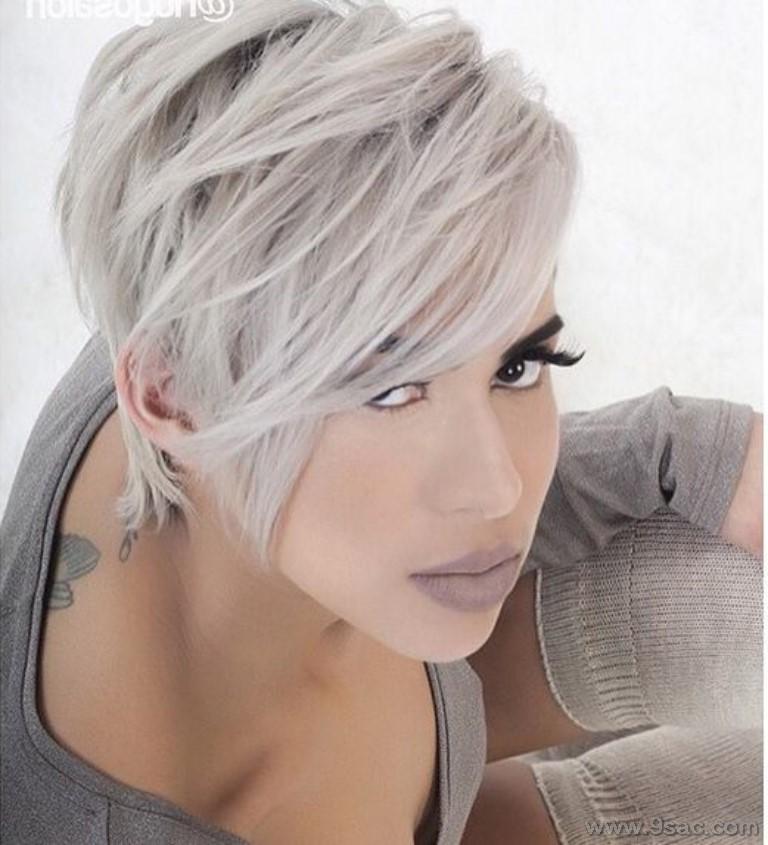 Yeni Saç Rengi Küllü Platin Saç