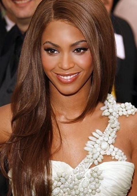 Beyonce Knowles Kahverengi Cikolata Seker Saç Renkleri