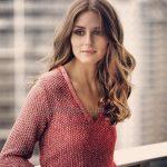 Olivia Palermo Acık Kahve Rengi Saç Rengi Altın Kahverengi