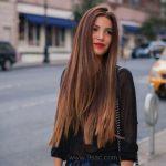 Güzel Kahverengi Saç Renkleri
