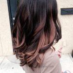 Kahverengi Karışık Ombre Saçlar