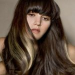 Koyu Karamel Sari Saç Rengi Işıltıları