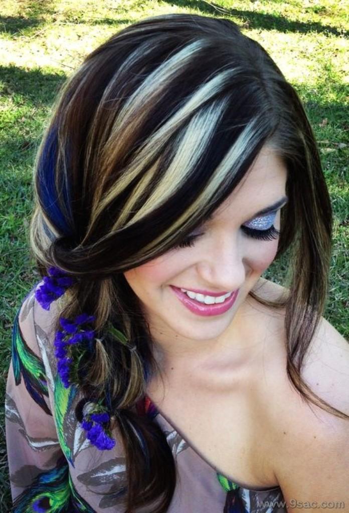 Hemen Kopyalayabileceğiniz 57 Güzel Işıltı Saç Rengi Modelleri Saç