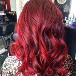 2016 kızıl saç rengi tonlari
