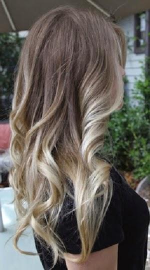 Ombre saç renkleri 2017-8