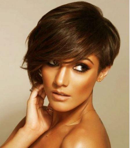 Kısa Kahküllü Saç Modelleri 2016