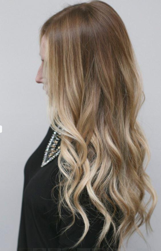 Sari Ombre Saç Renkleri Saç