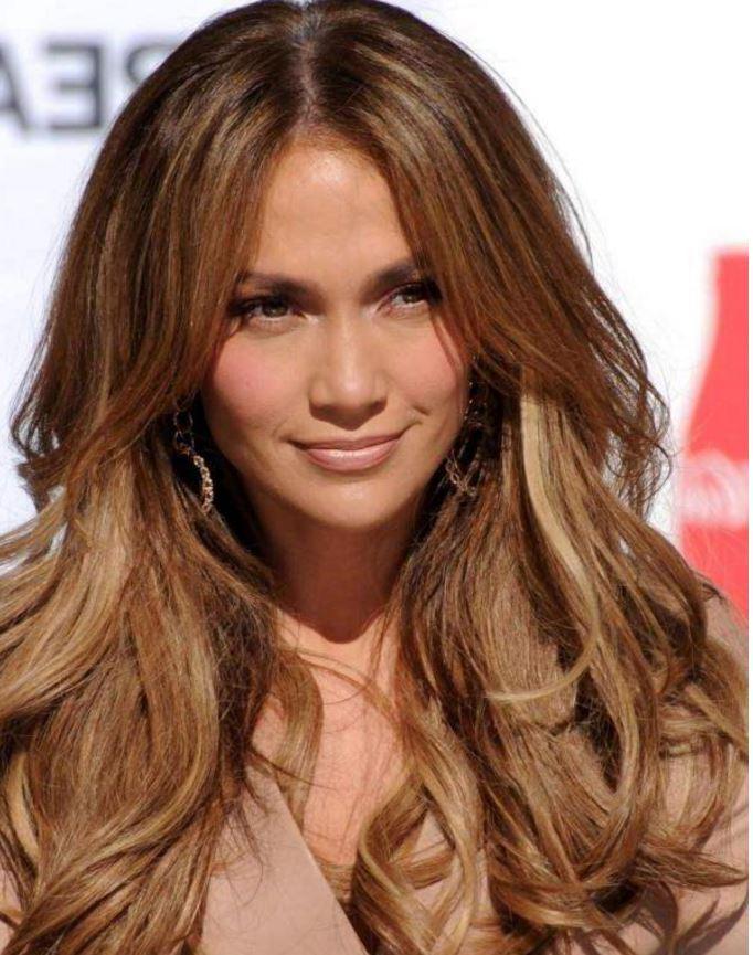 Karamel Jennifer Lopez Saç Rengi Modasi Saç