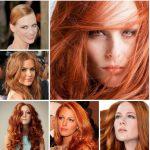 2016 bakır kızıl saç renkleri
