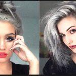 2016 Gri Saç Renkleri ve Modelleri