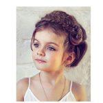 2017 küçük kız çocuk düğün saç modelleri