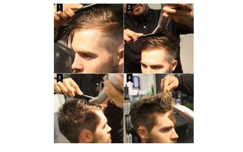 Aşama Aşama Erkek Saç Modelleri Uygulanması