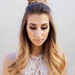 Balerin Topuz Saç Modeli