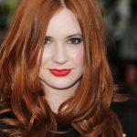 Beyaz Tenli Bayanlara Yakışan Saç Renkleri Kızıl Saç Rengi