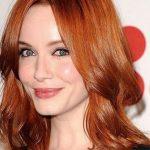Beyaz Tenli Bayanlara Yakışan Saç Renkleri Kızıl Saç Renkleri 2016