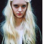 Beyaz Tenli Bayanlara Yakışan Saç Renkleri Platin Sarı