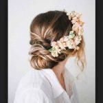 Çiçekli Saç Modeli