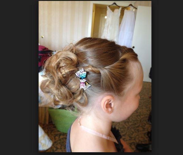 Çocuk Kısa Saç Modelleri Düğün için