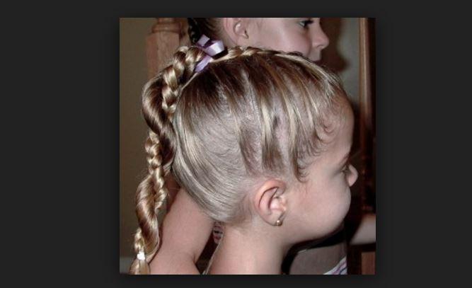 Çocuk Saç Modelleri ve Yapılışları Düğün için