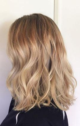 Doğal Bej Sarısı Saç Modelleri Saç