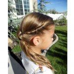 Düğün için Saç Modelleri Çocuklara Özel