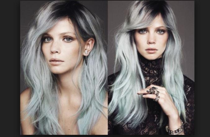 Efsane Gri Saç Renkleri Modası Saç