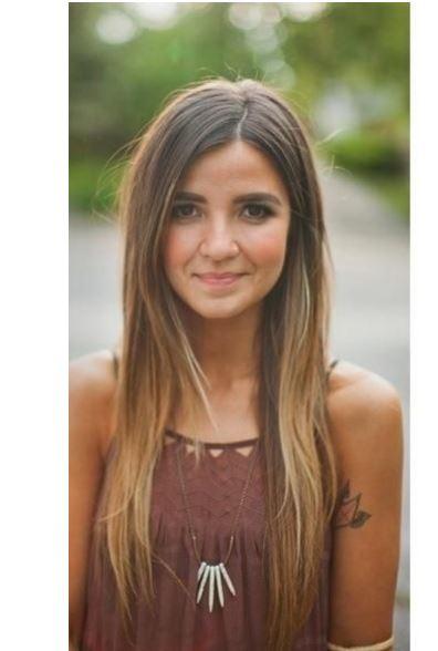 Genç kız ombre saç renkleri ve modelleri