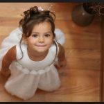 Küçük kız çocuk düğün saç modelleri 2017
