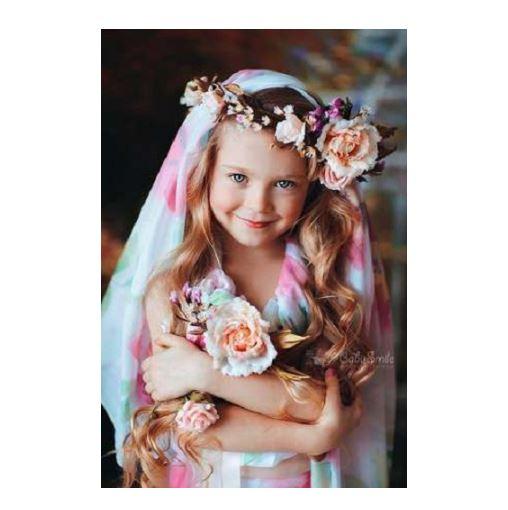Küçük kız düğün saç modelleri 2016