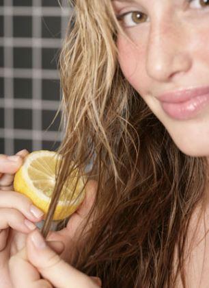 Limon Suyu Saç Açma Yöntemi