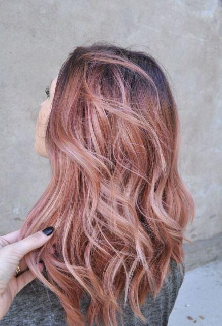 Pembe Saç Modeli 2016