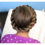 Prensesler için Düğün Saç Modelleri