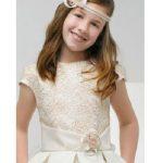 Sirin küçük kız çocuk düğün saç modelleri