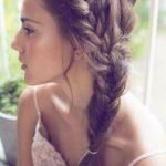Yan Örgü Saç Modelleri
