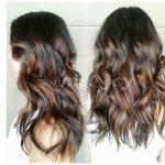 Browni balyaj saç stili ve renkleri