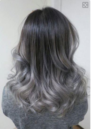 Ombre Yapılan Saçlarından Koyu Gri Gölgelere Geçiş Nasıl Olmalı Saç