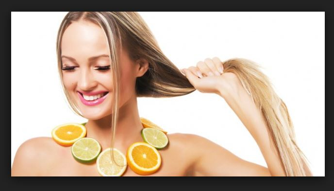 Limon ile Saç Açma İşlemi
