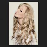 Okul için Dalgalı Saç Modelleri