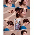 Sabahları yapılacak 5 dakikalık kısa saç modelleri yapılışı