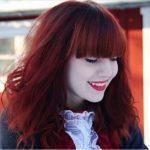2017 Kızıl Kadın Saç Rengi Modası
