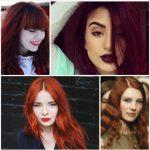 2017 Kızıl Saç Renkleri ve Modelleri