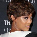 Tyra Banks Kısa Saç Modeli Yandan Bakış