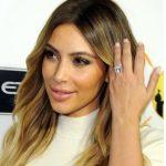 Bal Sarısı 2017 Kim Kardashian Saç Renkleri ve Modelleri
