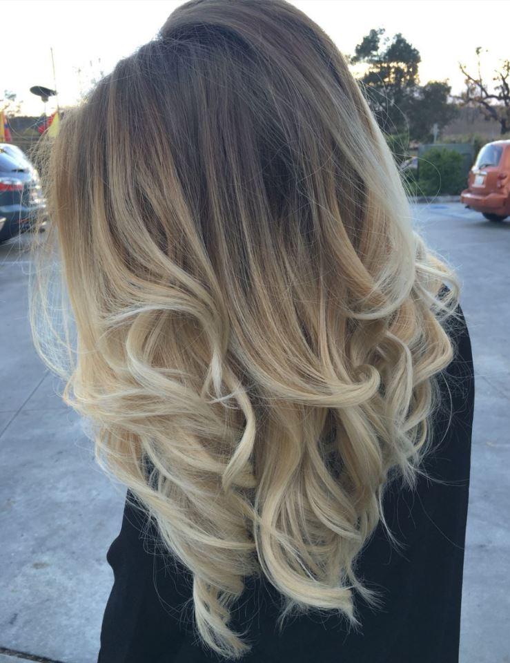 Küllü Sarı Saç Rengine Yakın Saç Renkleri Saç